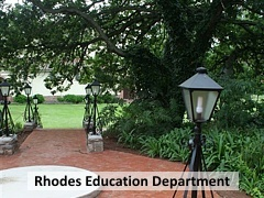 Rhodes Education Department