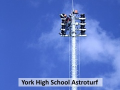 York High School Astroturf